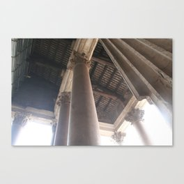 with standing time, light, and all else Canvas Print