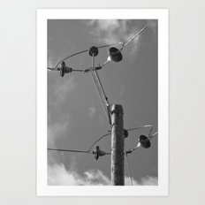 commune with the sky... Art Print