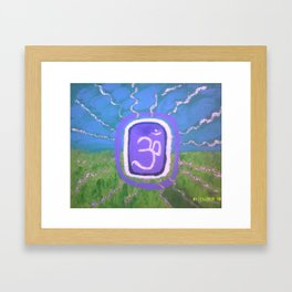 Aum Cosmic Consciousness Framed Art Print