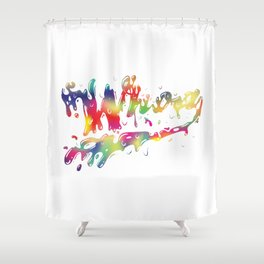 Whoah Shower Curtain