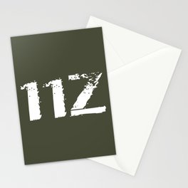 11Z Infantry MOS Stationery Cards