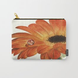 Gerbera with a dew drop Carry-All Pouch