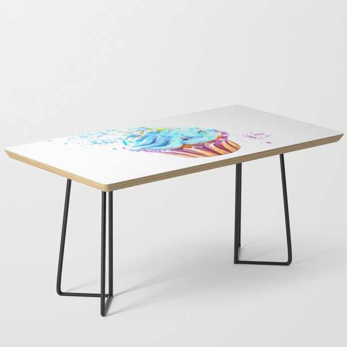 Cupcake watercolor illustration Coffee Table