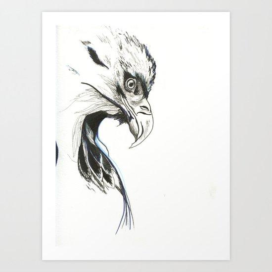War Eagle Art Print
