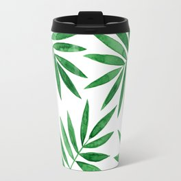 Palm Leaves Travel Mug