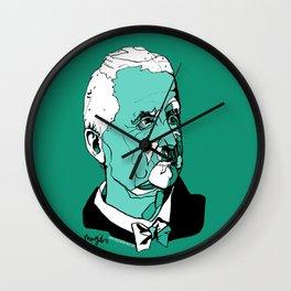 Anton Bruckner Composer contemporary of Wagner Brahms Mahler Ink Portrait Music Organ Art Wall Clock