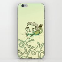 lonely iPhone & iPod Skins featuring Lonely by Emily Joan Campbell