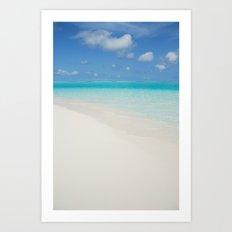Maldives Art Print
