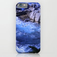 landscape with ocean iPhone 6s Slim Case