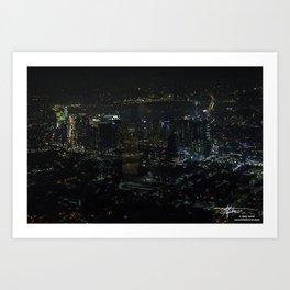 Looking at Seoul Art Print