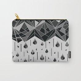Geometric rain Carry-All Pouch