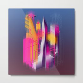 Swedenborg's Left Pinky Metal Print