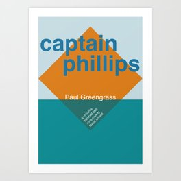 Captain Phillips Art Print