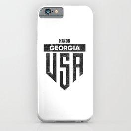 Macon Georgia iPhone Case