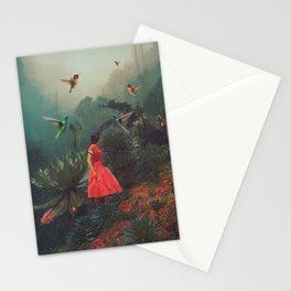 20 Seconds before the Rain Stationery Cards