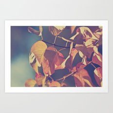 Color of the Leaves Art Print