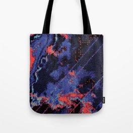 Glitch Cartography #1 Tote Bag