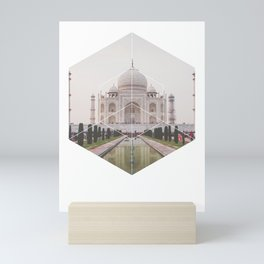 Taj Mahal - Geometric Photography Mini Art Print