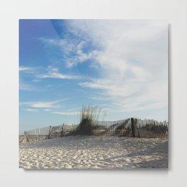 Waves of Sand Metal Print