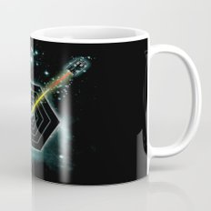 Space and Time Fragmentation Ship Mug
