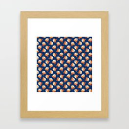 Blue Bondage Framed Art Print