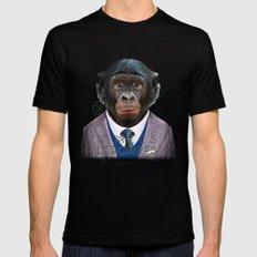 Gorille MEDIUM Mens Fitted Tee Black