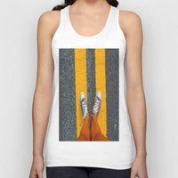 converse Tank Tops featuring Converse Contrast by jyoshimitsuj