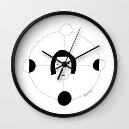 Four moons Wall Clock