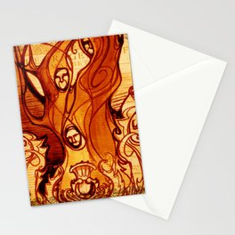 Macbeth Witches - Shakespeare Folio Illustration Art Stationery Cards