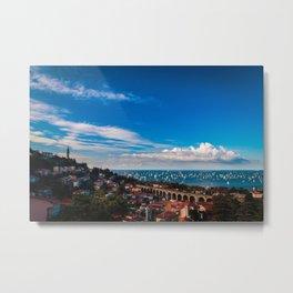 The Barcolana regatta in the gulf of Trieste Metal Print
