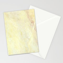 Marble with Okra Threads Stationery Cards