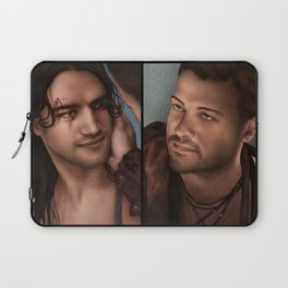 Nagron First Kiss (Spartacus) Color Version Laptop Sleeve