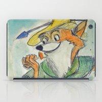 robin hood iPad Cases featuring Robin Hood  by Renatta Maniski-Luke