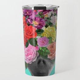 Alien Bouquet  Travel Mug