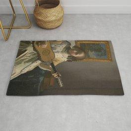 Johannes Vermeer - The Guitar Player Rug