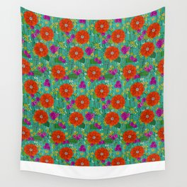 Summer garden Wall Tapestry