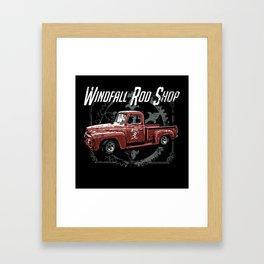 Windfall Rod Shop Framed Art Print