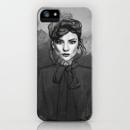 GREY SKY iPhone Case