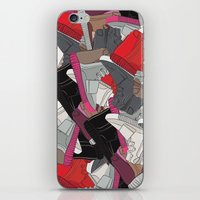 lv iPhone & iPod Skins featuring YZY x LV  by RaymondDesignz