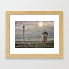 Brightlingsea Beach UK Framed Art Print