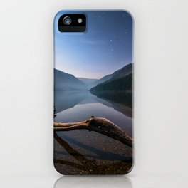 Glendalough at Night - Ireland | Print (RR 265) iPhone Case