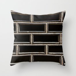 The Grille Throw Pillow