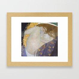 Danae by Gustav Klimt Framed Art Print