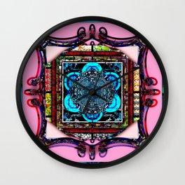 framed p2 Wall Clock