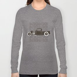 Rat Rod Hot Rod Vintage Long Sleeve T-shirt