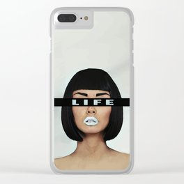 Life is Life Clear iPhone Case