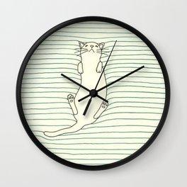 Kitty Soft Wall Clock