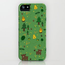 forest bears iPhone Case
