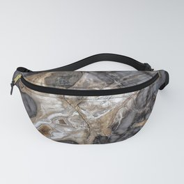 Petrified wood 3264 Fanny Pack