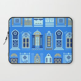 Moroccan Doors – Cornflower Blue Palette Laptop Sleeve